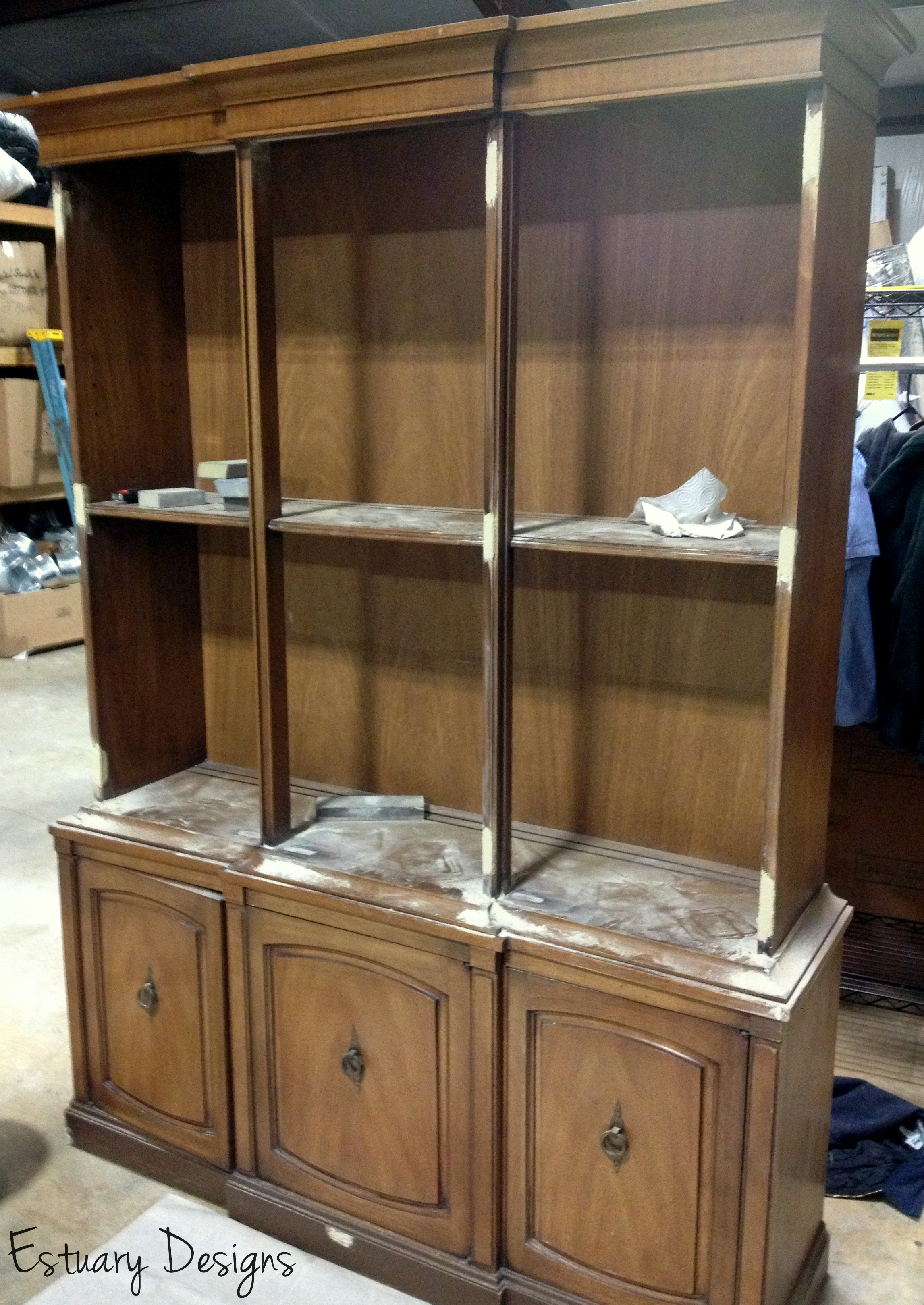 china cabinet transformation furniture before picture hutch estuary debut designs