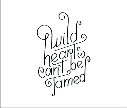 Wild Hearts temporary tattoo from Tattify