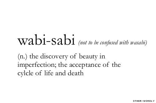 Wabi-sabi meaning